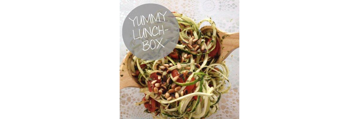 Leckere Salate für die Lunch-Box -